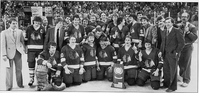 North Dakota Hockey 1981 82 NCAA Champions